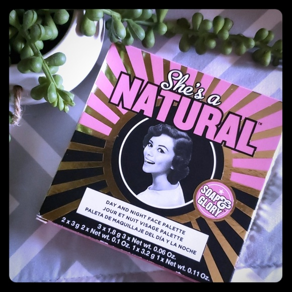 Soap & Glory Other - New Soap & Glory She's A Natural Palette Full Size